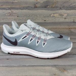 Women's Nike Quest Running Shoe Light Silver/Grey